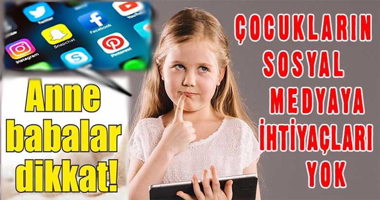 Çocukların sosyal medyaya ihtiyaçları yok 5