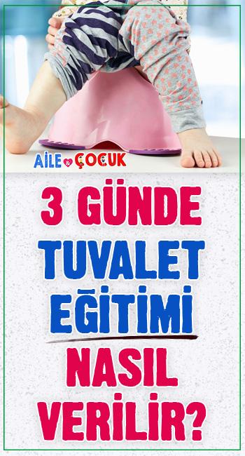3 günde tuvalet eğitimi nasıl verilir? Çocuklarda tuvalet eğitimi genellikle 2 yaşında başlar. Tuvalet eğitiminde çocuğunuza kısa sürede tuvalet alışkanlığını kazandırmanın yolları...