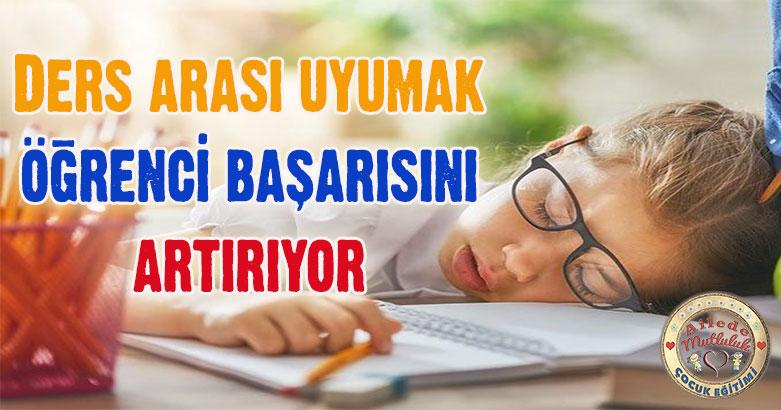 Ders arası uyumak öğrenci başarısını artırıyor 1