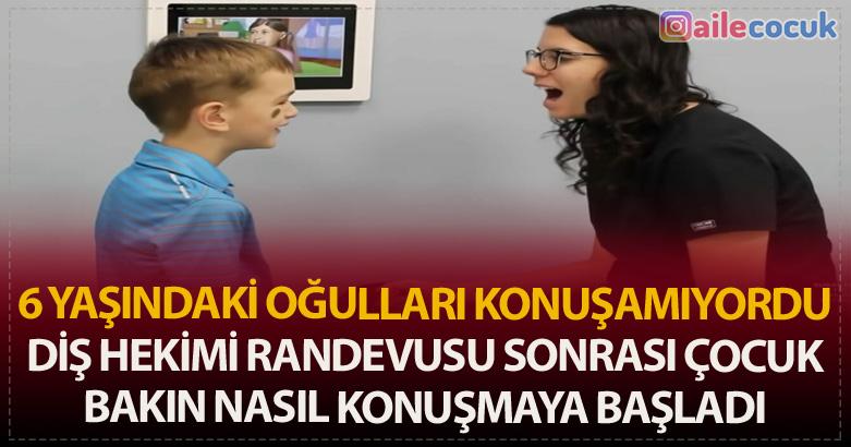 6 Yaşındaki Oğulları Konuşamıyordu – Diş Hekimi Randevusu Sonrası Çocuk Bakın Nasıl Konuşmaya Başladı 4