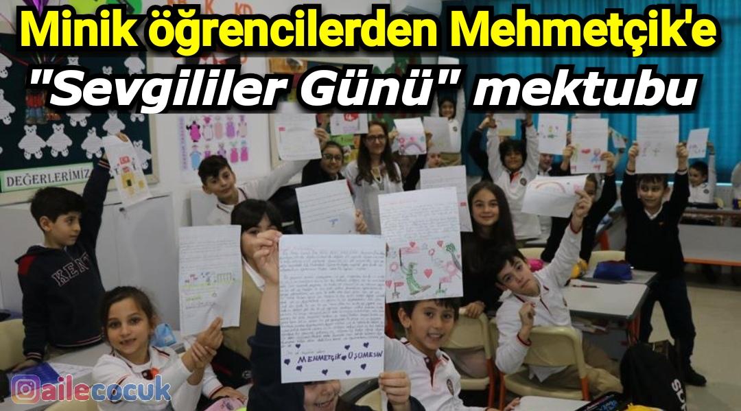 Minik öğrencilerden Mehmetçik'e