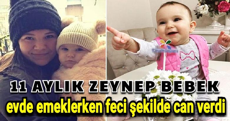 11 aylık Zeynep bebek evde... 2