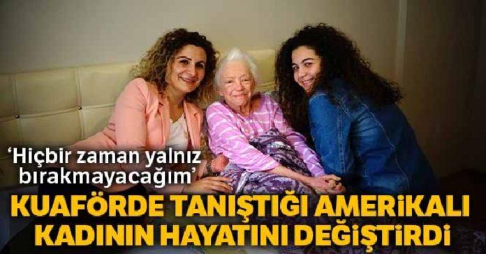 Türk anne ve kızı ile Amerikalı kadının iyilik hikayesi 2