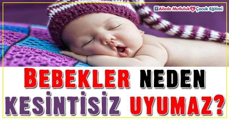 Bebekler neden kesintisiz uyumaz? 3