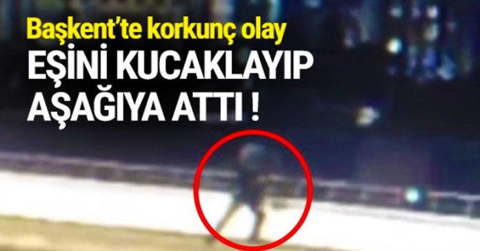 Otogarda tartıştığı eşini 12 metreden aşağı attı 3
