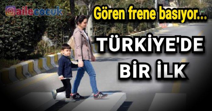 Türkiye'de bir ilk! Gören frene basıyor... 4
