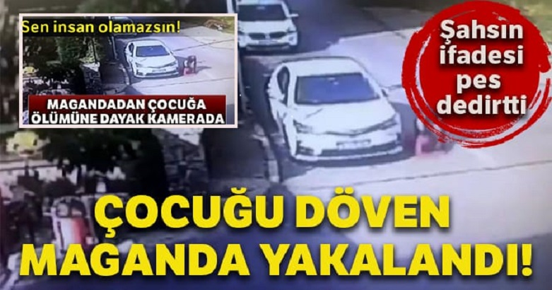 Tuzla'da 12 yaşındaki çocuğu döven maganda yakalandı 2