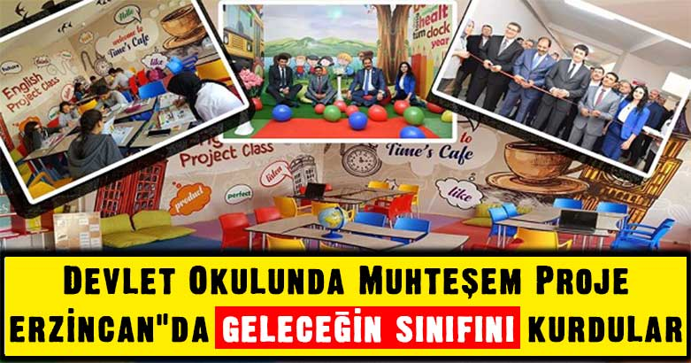 Devlet Okulunda Muhteşem Proje
