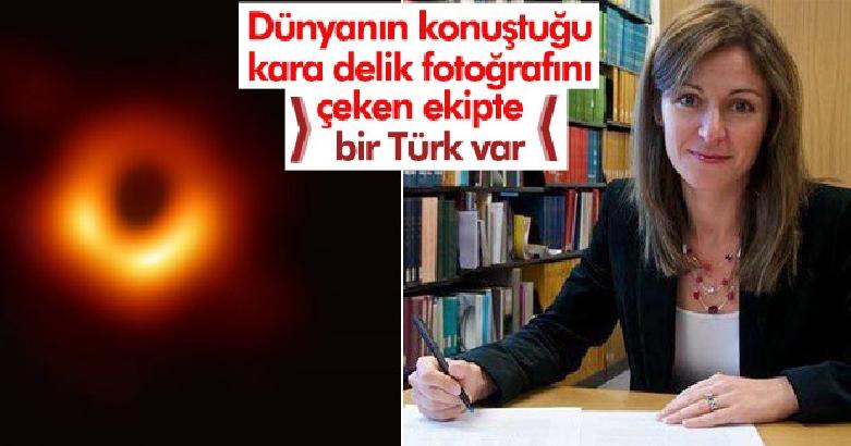 Dünyanın konuştuğu kara delik fotoğrafını çeken ekipte bir Türk var 4