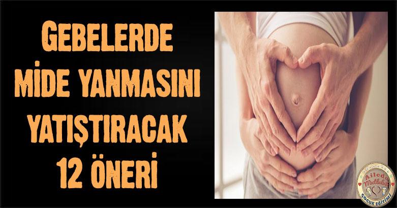 Gebelerde mide yanmasını yatıştıracak 12 öneri (Hamilelikte mide yanması nasıl geçer?) 4