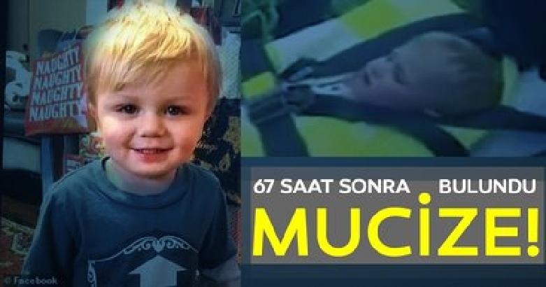 2 yaşındaki çocuk 67 saat sonra aç ve susuz şekilde bulundu! 2