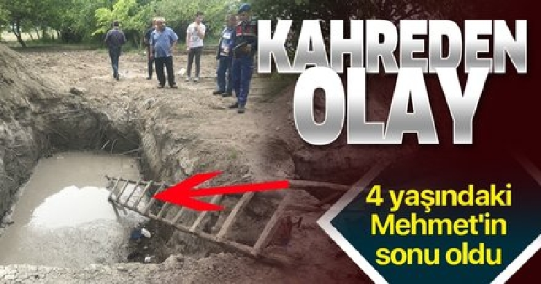 Manisa'da sondaj çukuruna düşen çocuk hayatını kaybetti 3