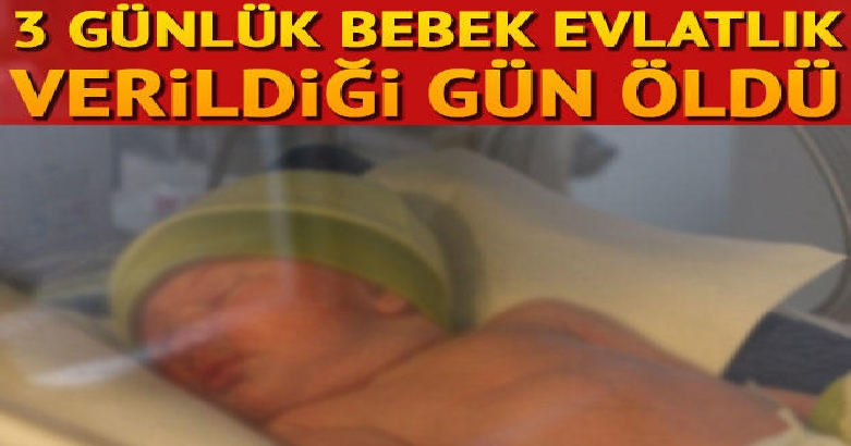 3 günlük bebek evlatlık verildiği gün öldü 2