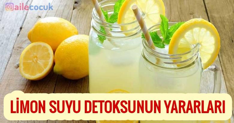 Limon suyu detoksunun yararları 4