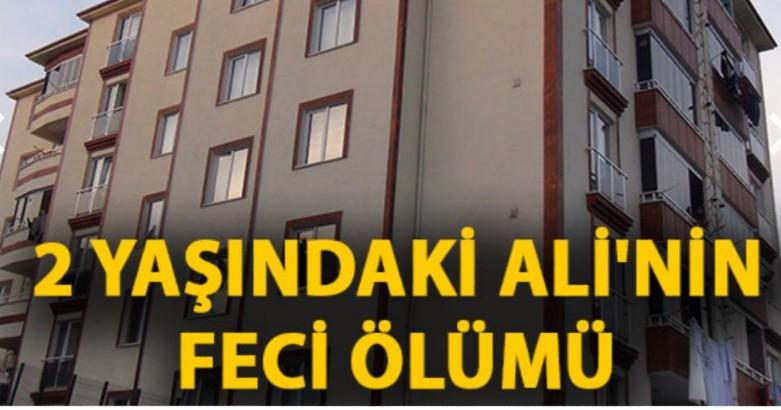 2 yaşındaki Ali balkondan düşerek öldü 2