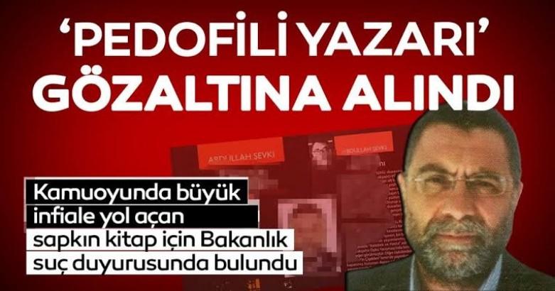 Zümrüt Apartmanı kitabının yazarı Abdullah Şevki gözaltına alındı 2