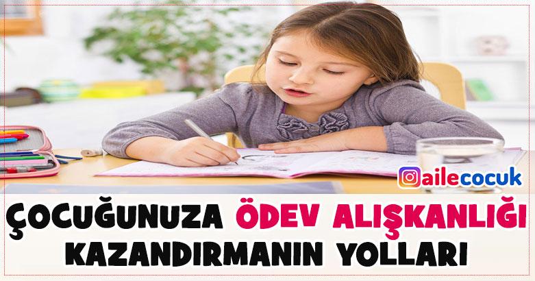 Çocuğa ödev alışkanlığı kazandırmanın yolları! 3