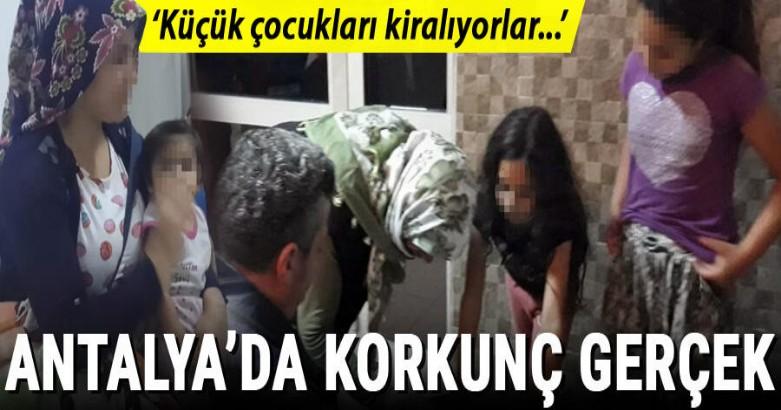 Antalya'da korkunç gerçek! 'Küçük çocukları kiralıyorlar' iddiası 2