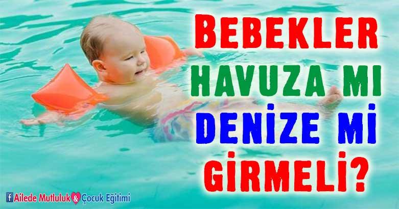 Bebekler havuza mı denize mi girmeli? 4
