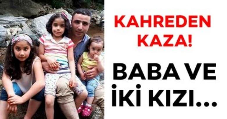 Eskişehir'de kahreden kaza! Baba ve iki kızı... 2